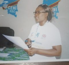 Marie-Claire Lingoy Ndukiabatu, agent CENI enlevé